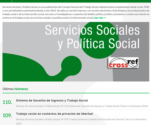 Revista digital y Exportación para Crossref