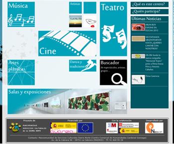 Aplicación Centro Virtual de las Artes