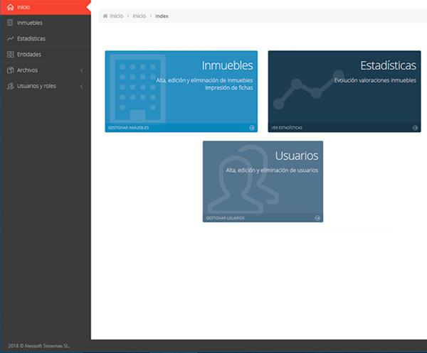 Software de Gestión de Inmuebles
