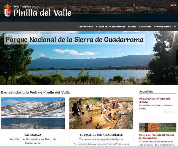 Web de Pinilla del Valle