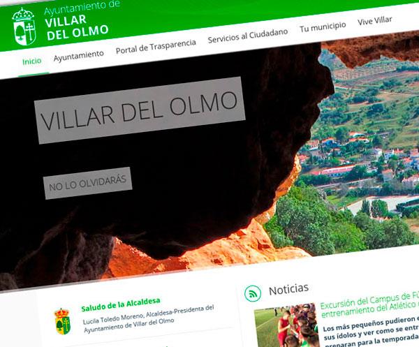 Web corporativa de Villar del Olmo