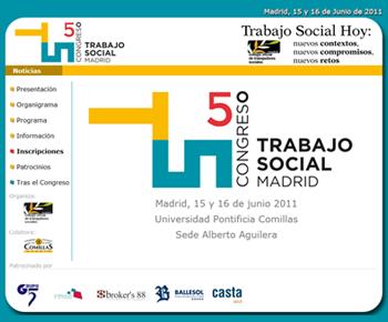 Congreso de Trabajo Social Madrid