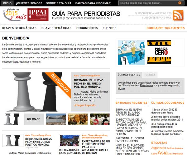 Guia para periodistas - Traslado y mantenimiento